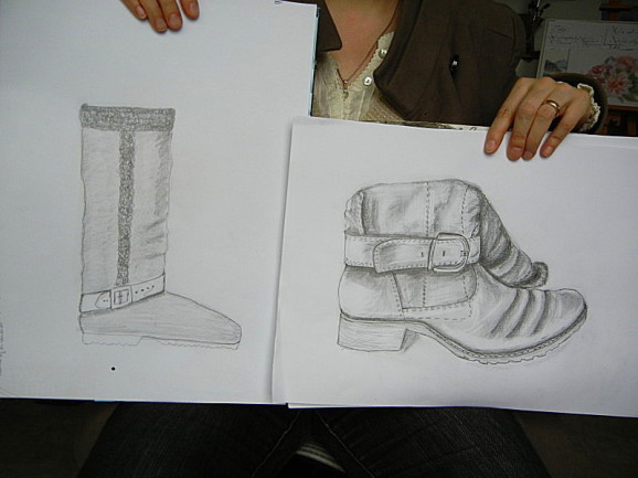Kunst workshop kunstschule atelier irene schuh for Aktzeichnen frankfurt