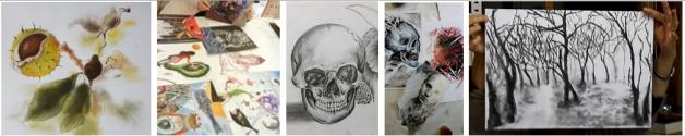 Malen, Zeichnen und Gestalten, Kunstschule Frankfurt