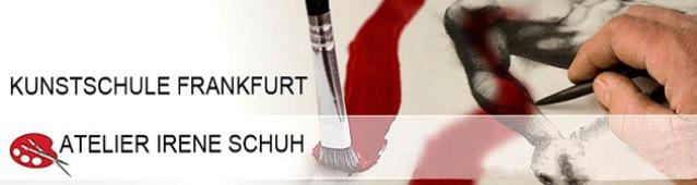 Logo Irene Schuh, Frankfurt Atelier, Kunstschule