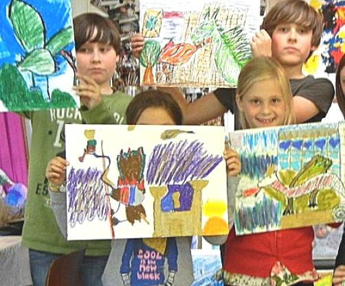 Kinderkunst-Workshop-im-Atelier-Irene-Schuh-Frankfurt