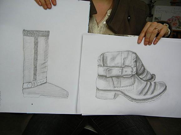 Kurs Zeichnen lernen,Kunstschule-Frankfurt-Atelier-Irene-Schuh