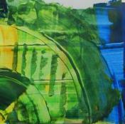 Spachtel-Techniken, Kunstwerk erstellen Kunst-Sommerakademie-Frankfurt, Kunstschule Frankfurt Atelier Irene Schuh
