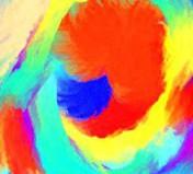 Experimentelle Malerei im Mal-Workshop und Malkurs der Kunstschule Frankfurt Atelier Irene Schuh