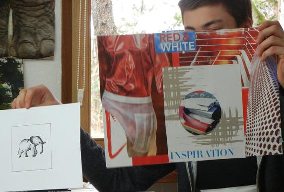 Ideen entwickeln und toll gestalten für die Kunst-Bewerbungsmappe