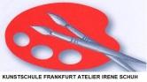 Das ist das Logo der Kunstschule Frankfurt Atelier Irene Schuh