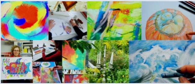 Mal- und Zeichenkurse in der Kunstschule Frankfurt Atelier Irene Schuh