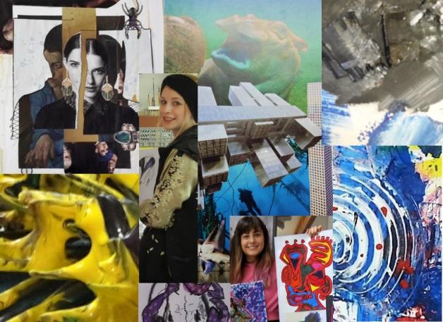 Malen und Zeichnen, Zeichenkurs, Malkurs, Mappenkurs, Kunst-Events und Kunst-Kurse in der Kunstschule Frankfurt Atelier Irene Schuh