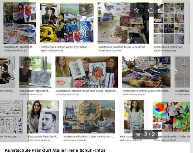 Fotos-Kunstschule-Atelier, Teilnehmerbilder, KunstschuleFrankfurt-Atelier-IreneSchuh