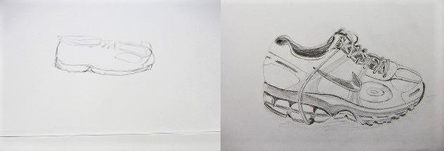 Zeichnen Zeichenkurse Kunstschule Atelier Irene Schuh