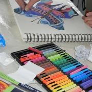 Pastell-Workshop, Zeichen-workshop Zeichnen-Workshop, Kunstschule-Frankfurt-Atelier-Irene-Schuh