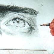 Augen zeichnen lernen im Kunst-Atelier Irene Schuh Frankfurt