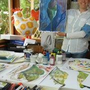 Kunst-Sommerakademie Kunstschule Frankfurt Atelier Irene Schuh